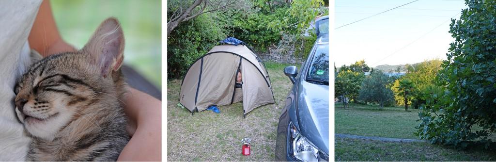 campingplatz Trsteno vor Dubrovnik Kroatien - Autorundreise - www.diefernwehfamilie.de