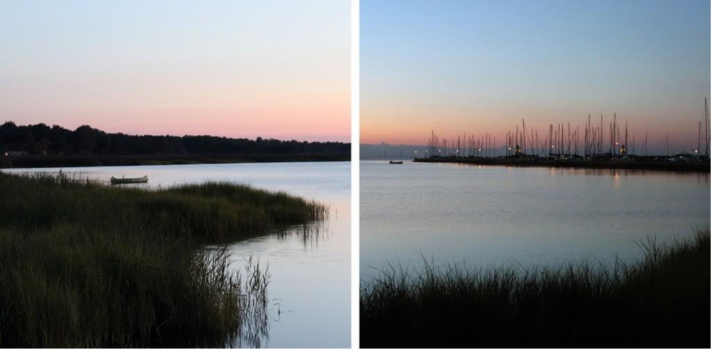 Wildcampen in Schweden, die erste Nacht mit wunderschönem Ausblick