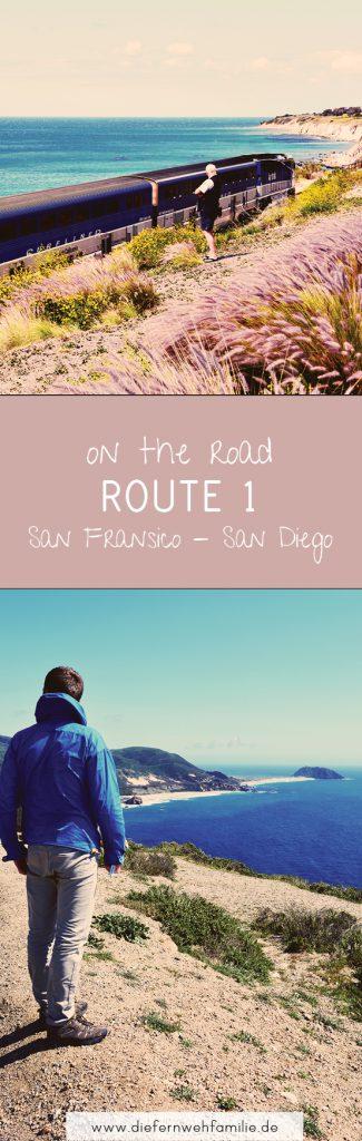 Mit dem Mietwagen quer durch die USA, Teil 4, Route 1, voon San Francisco nach San Diego, www.diefernwehfamilie.de