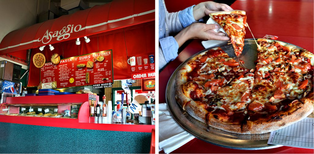 Asaggio Pizza Pasta Plus, San Diego Harbor