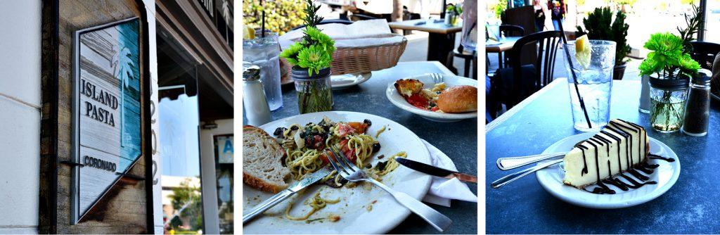 Coronado, Island Pasta, San Diego