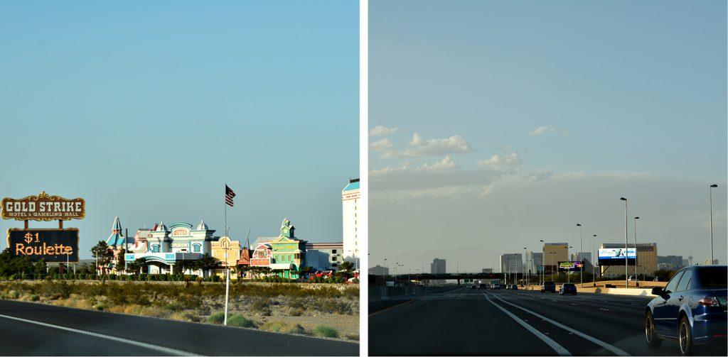Ersten Eindrücke von Las Vegas, ist das schon Las Vegas? DieFernwehFamilie