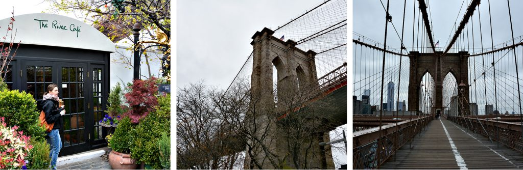 River Cafe an der Brooklyn bridge, www.diefernwehfamilie.de