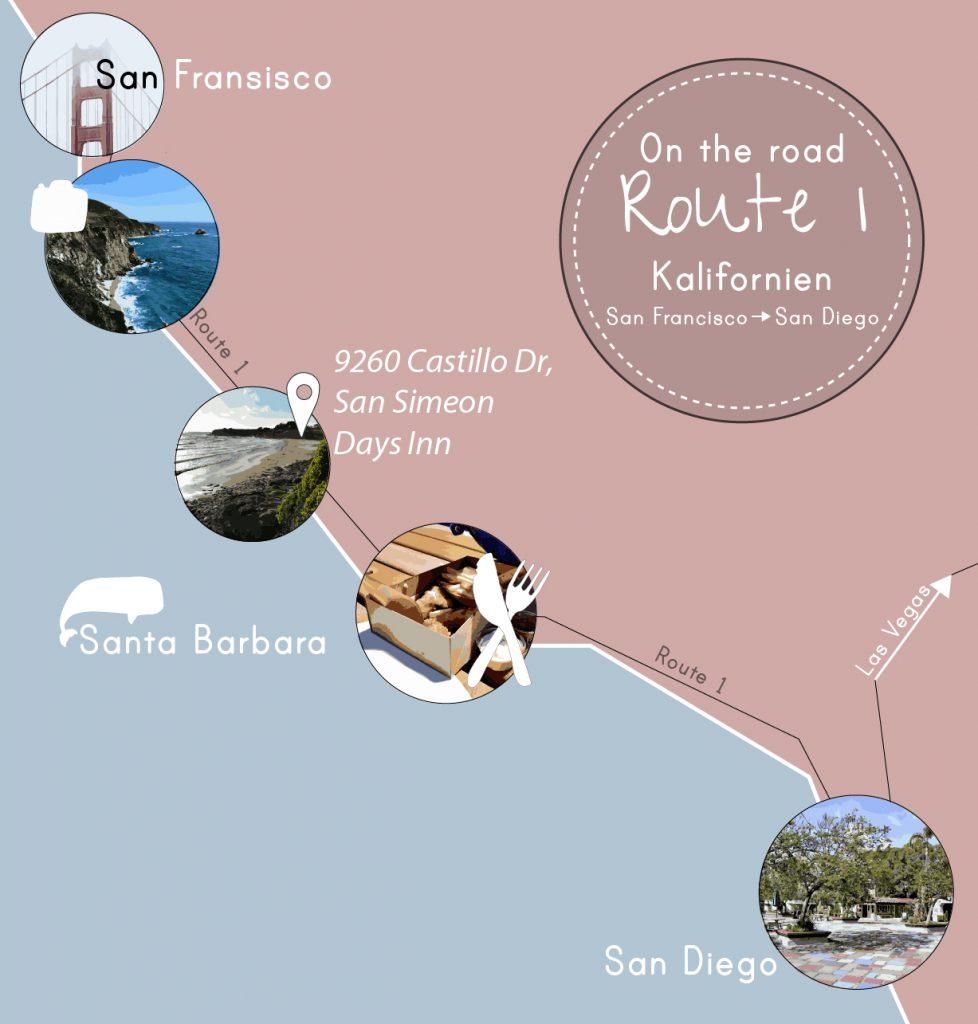 Route 1, von San Francisco nach San Diego, www.diefernwehfamilie.de