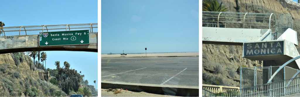 Entlang der Route 1, Santa Monica, Kalifornien, www.diefernwehfamilie.de