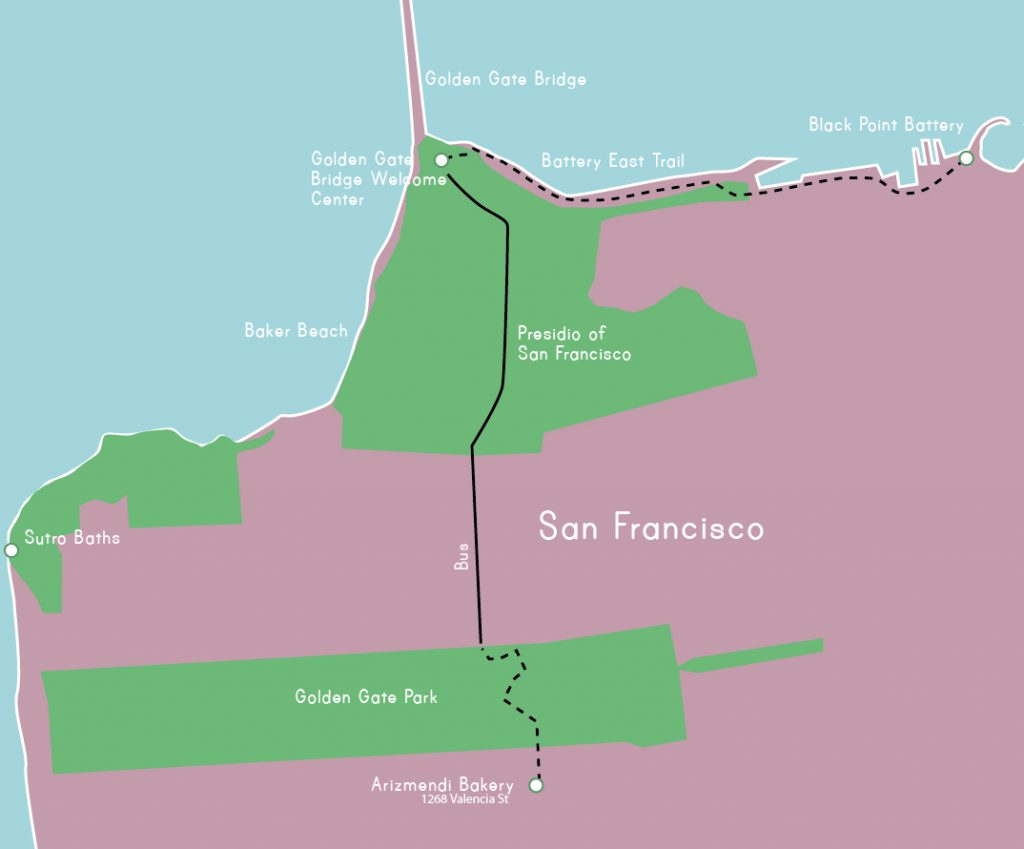 3 Tage San Francisco, Tag 3 Highlights und Route, www.diefernwehfamilie.de