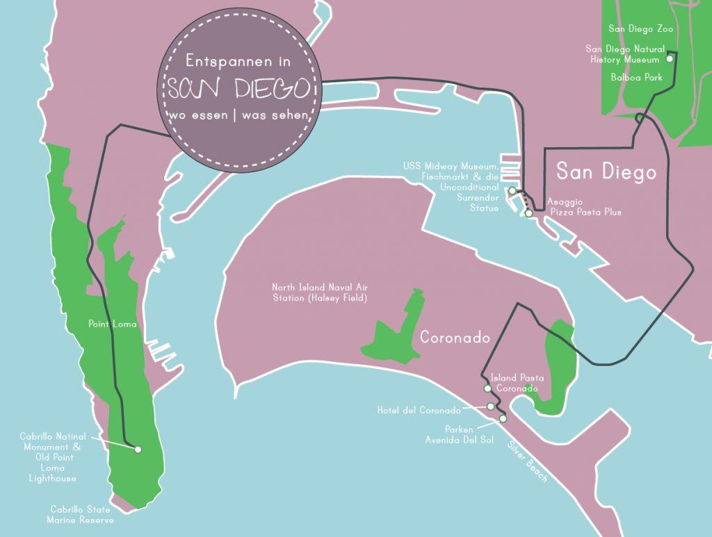 Entspannen in San Diego, www.diefernwehfamilie.de