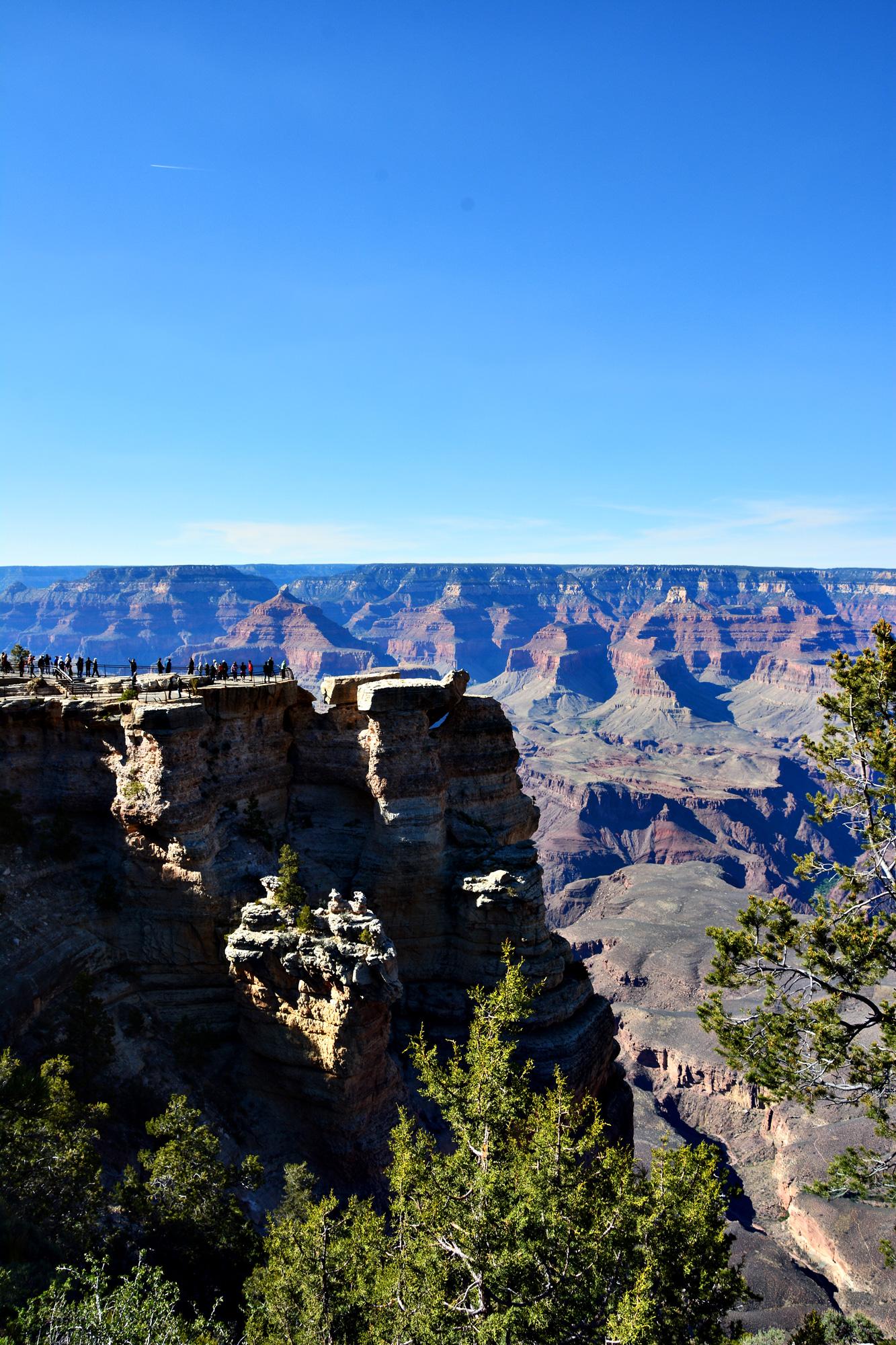 Ein Nachmittag am Grand Canyon, DieFernwehFamilie