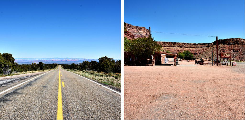 Von Utah nach Arizona_auf der Fahrt zum Grand Canyon DieFernwehFamilie