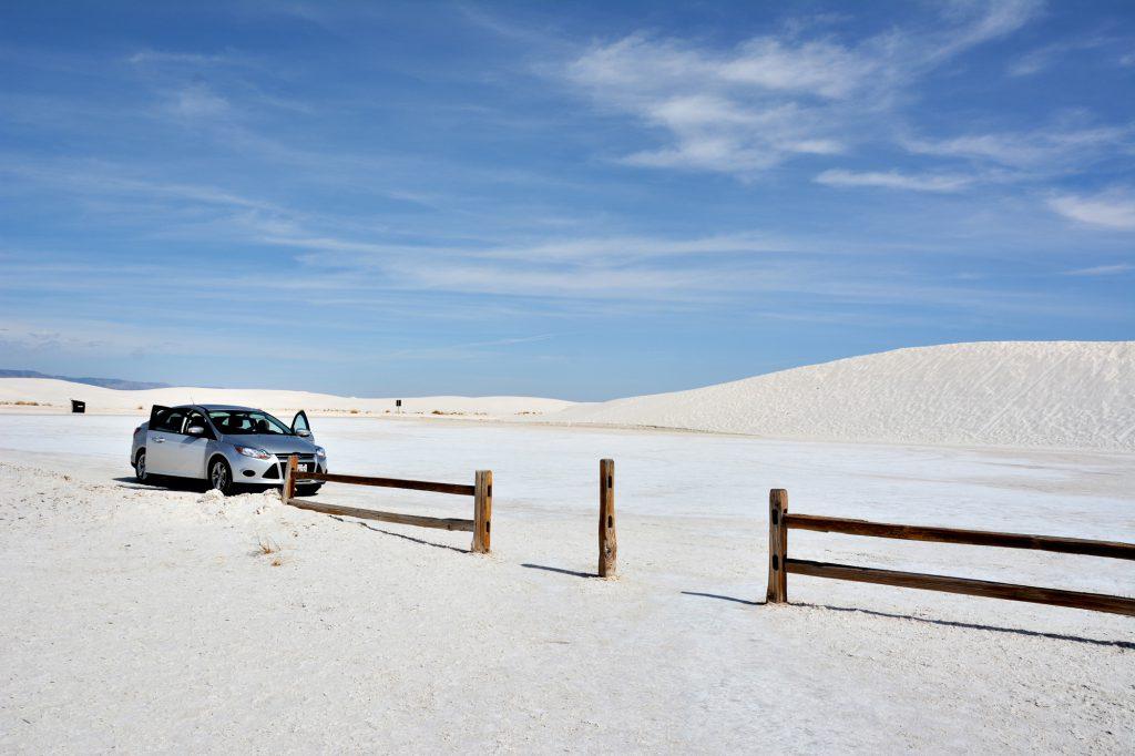 Du planst eine Rundreise durch die USA, dann darfst du White Sands in New Mexico nicht verpassen_DieFernwehFamilie