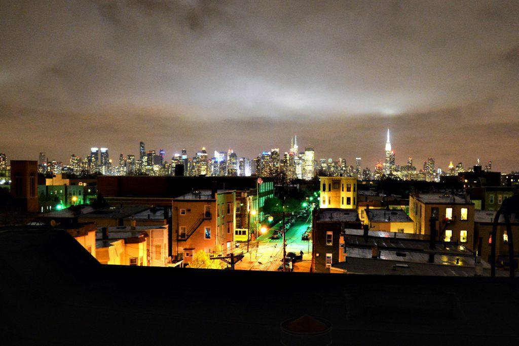 10-lieblingsstadt. New York City, Skyline, bei Nacht