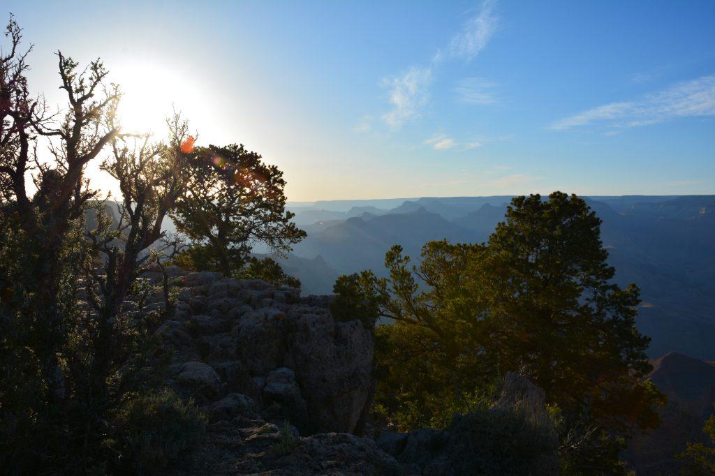 5-ein-bild-von-oben, atemberaubend schöner Blick in den Grand Canyon