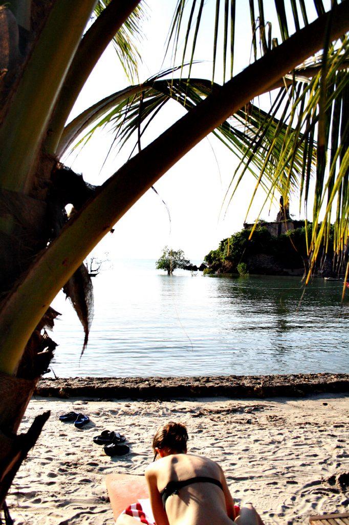8. unter den Palmen genießen, Sansibar, Private Bucht